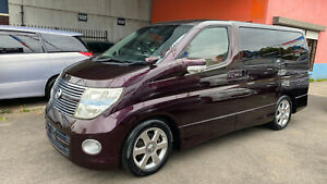 2007 Nissan Elgrand 8 Seat Luxury Automatic Wagon with Rego & Rwc Fawkner Moreland Area Preview