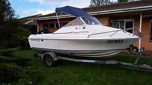 Haines traveller half cab 4.8 mtr boat Adelaide CBD Adelaide City Preview
