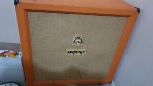 "Orange 412 speaker cab 4x12"" cabinet for guitar amps"