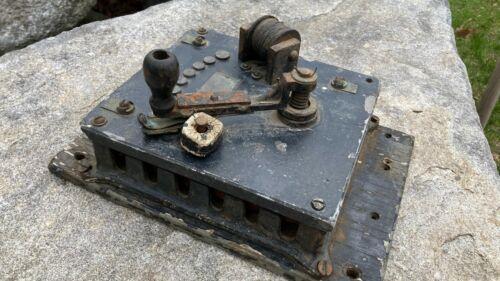 Large Antique Cutler Hammer Industrial Rheostat Switch Control Steampunk