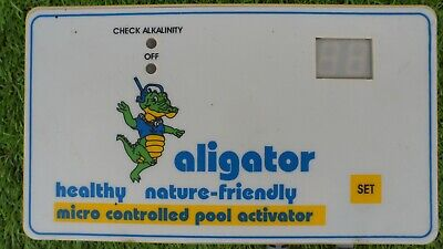 ALIGATOR MICRO CONTROLLED POOL WATER ACTIVATOR CONTROL BOX ALG - 33