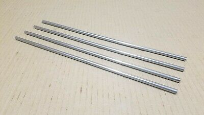 304 Stainless Steel 14 Round 12 Long Bars Rods 4 Pack