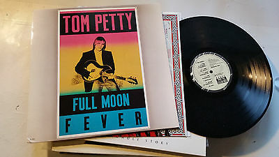 tom petty full moon fever heartbreakers lp '89 orig with lyric & the rare oop - Tom Petty Heartbreakers Lyrics