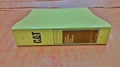 Cat Caterpillar G343 Natural Gas Engine Service Manual Reg00836