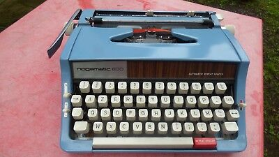 máquina de escribir Nogamatic 600 Brother vintage ornamentación loft