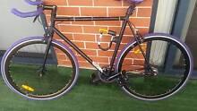 Black and purple custom designed Fixie - 10 months old Erskineville Inner Sydney Preview