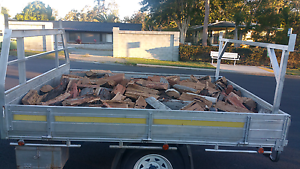 Firewood.  Gum & ironbark 8x6 ute loads delivered. Taringa Brisbane South West Preview
