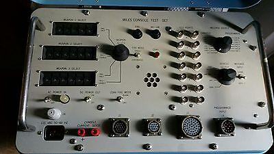 Vintage Miles Console Test Set