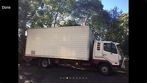 mitsubishi fighter removals trucks with tail lifter Belmore Canterbury Area Preview