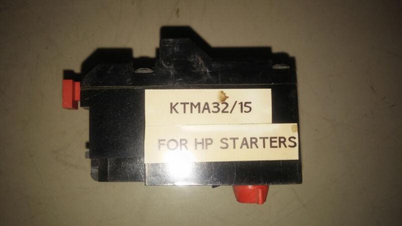 JOSLYN CLARK KTMA32-15 NEW NO BOX 3P OVERLOAD RELAY SEE PICS #B6