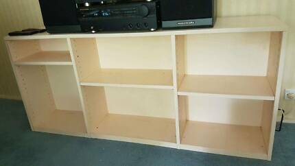 Wood Cubed Shelf - Good Condition - Pickup from Wahroonga