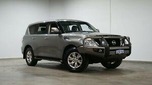 2014 Nissan Patrol Y62 TI Grey 7 Speed Sports Automatic Wagon