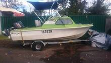 Savage Tasman 4.57m (15 ft) Half Cabin with 60hp Yamaha Engine North Ryde Ryde Area Preview