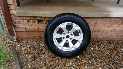 NEW 2014 Mitsubishi MN Triton Glxr Wheel and tyre. Long Jetty Wyong Area Preview