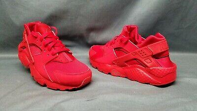 Nike Huarache Run (GS) Athletic Sneakers Mesh Red Grade-School Boys Size 6 NWOB!