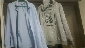 Mens clothing jumper and shirt Dianella Stirling Area Preview