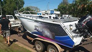 Boat for sale 4.8 Formosa many extras Darwin CBD Darwin City Preview