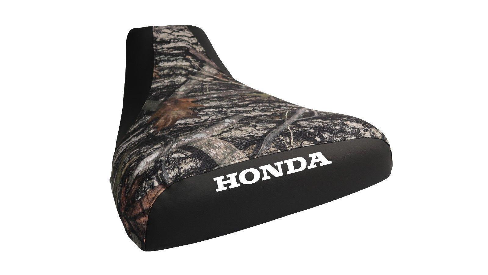Honda Rubicon 500 2005-11 Logo Camo Top Seat Cover TG20187056
