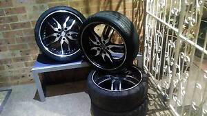 """18""""inch MAG wheels, 4x tyres and rims Quakers Hill Blacktown Area Preview"""