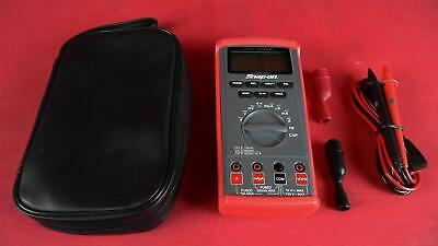 Snap-on Tools Eedm504d Auto-ranging Digital Multimeter With Case And Probes