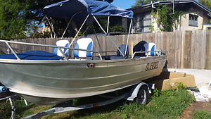 4.1m tinnie 30hp Southport Gold Coast City Preview