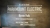 PARAMOUNT ELECTRIC.Free quotes.$65/hour