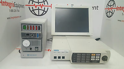 Ge Solar 8000m Anesthesia Monitor With Tram Rac 4a Sam Module - Biomed Tested