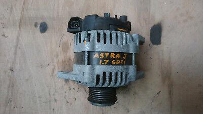 Vauxhall Astra J mk6 1.7 cdti alternator 100A 13500186