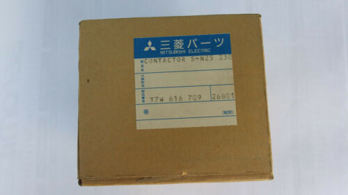 Genuine Mitsubishi Electric S-N25 AC230V - Magnetic contactor (((NEW-Sealed)))