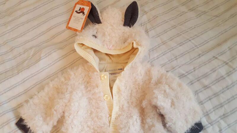 NEW Pottery Barn Kids 0 3 6 month Knit LAMB Halloween COSTUME baby sheep