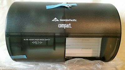 GEORGIA-PACIFIC Toilet Paper Dispenser,56784, Smoke Translucent