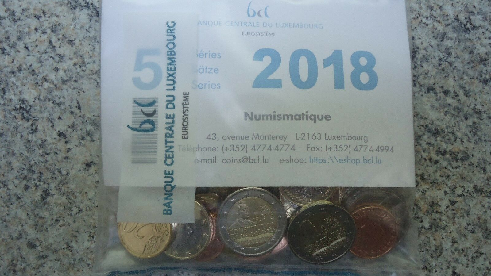 2 euro luxembourg 2018
