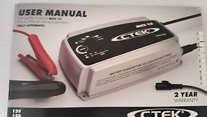 CTEK PRO BATTERY CHARGER MXS 15A Causeway Lake Yeppoon Area Preview