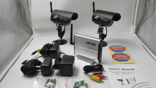 Wireless Infrared Camera with Receiver System