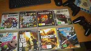 8 Games (TLoU + GTA V) + 2 Joysticks Zillmere Brisbane North East Preview