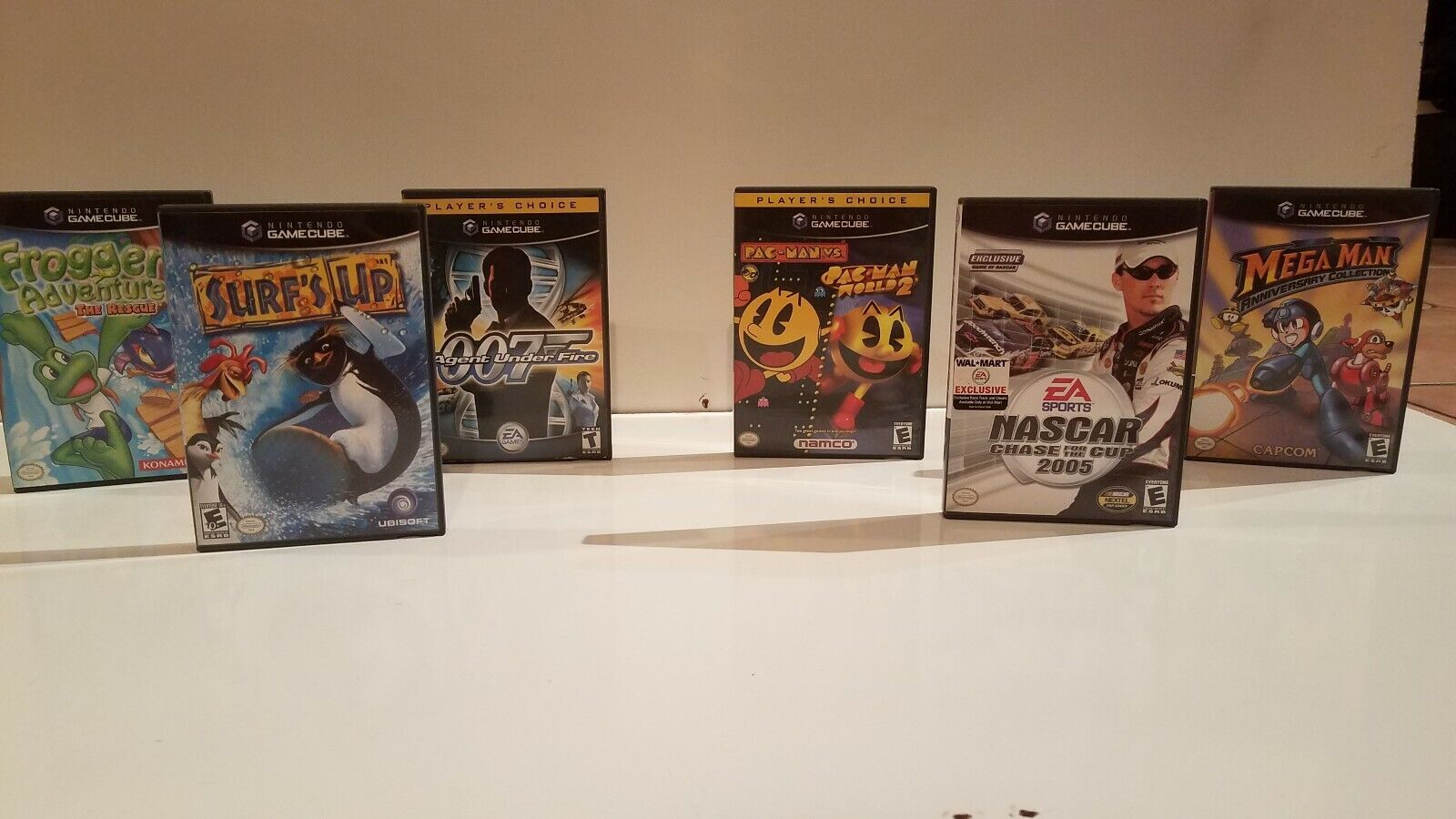 "Lot of 6 Nintendo Gamecube Games ""Very Good"""