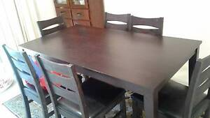Dining table and chairs Horsham Horsham Area Preview