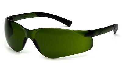 Pyramex Ztek Ir3 Welding Green Lens Safety Glasses Brazing Cutting Gas Z87