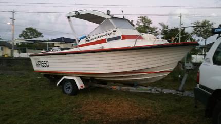 Cruise Craft Reef Ranger 18ft, 140hp Johnson