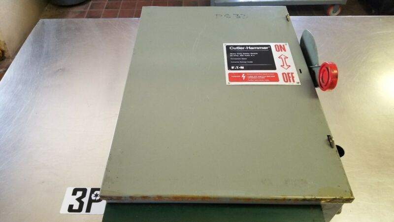 EATON CUTLER-HAMMER NON-FUSIBLE 60A DISCONNECT SWITCH DH462UGK