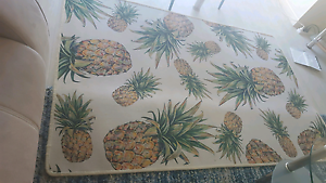Like new tropical pineapple rug mat carpet Urangan Fraser Coast Preview