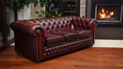 Chesterfield luxurious sofas x 2   brand new