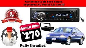 Ford Falcon AU Series I, II and III Single Din AX1502BT Stereo Dandenong North Greater Dandenong Preview