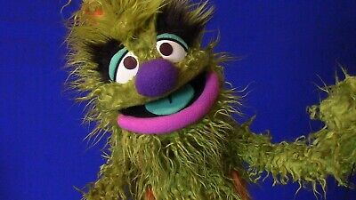 """Professional """"Messy Monster"""" Muppet-Style Ventriloquist Puppet"""