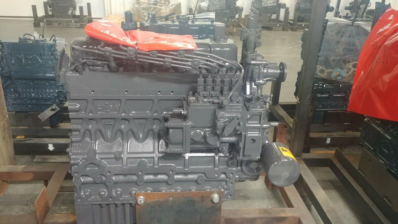 Kubota M5700 Tractor  F2803E Kubota Engine Re manufactured