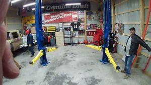 NEW BendPak XPR-10AS-LP Asymmetric 10,000 pound capacity 2 post truck car lift