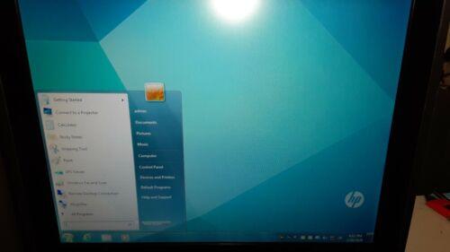 "HP RP7 7800 15"" POS Terminal Intel i3-2120 3.3GHz Pole Display Ingenico ISC250 +"