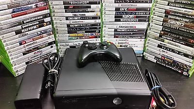 Microsoft Xbox 360 S E Edition 4GB Console System with games