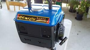 GENERATOR - PORTABLE - HOME OR CAMPING 950 WATT GENERATOR