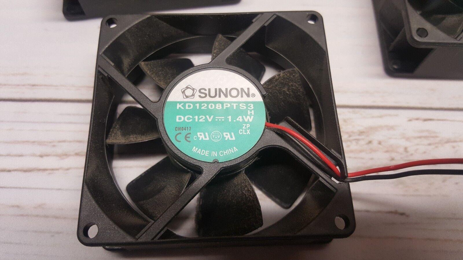 Three 3 Sunon KD1208PTS3-6 CPU Heat-Sink Fans DC 12V - 1.4W  - $24.99